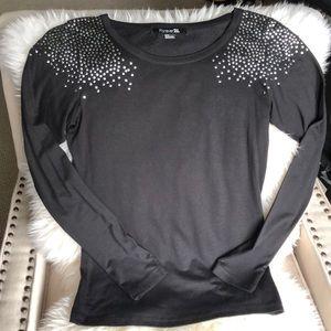 Forever 21 studded shirt